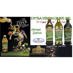 Minyak Zaitun Extra Virgin, Filippo Berio, 1 L Original