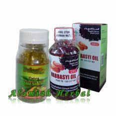 Beli Minyak Zaitun Palestin 100 Kapsul Habbasyi Oil 100 Kaspul 2 Botol Secara Angsuran