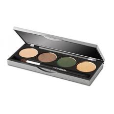 Mirabella Berpigmen Kaya Eyeshadow Quad Palet-Urban, 8G/0.28 Oz-Internasional