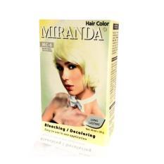 Miranda Hair Color - MC 6 Bleaching