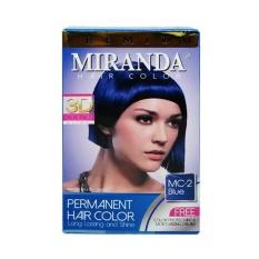 miranda hair color mc2 BLUE