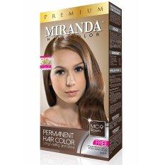 Miranda Hair Color Premium-60ml - Brown