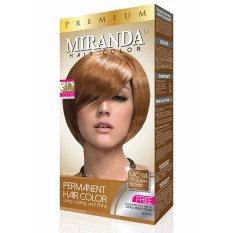 Miranda Hair Color Premium-60ml - Golden Brown