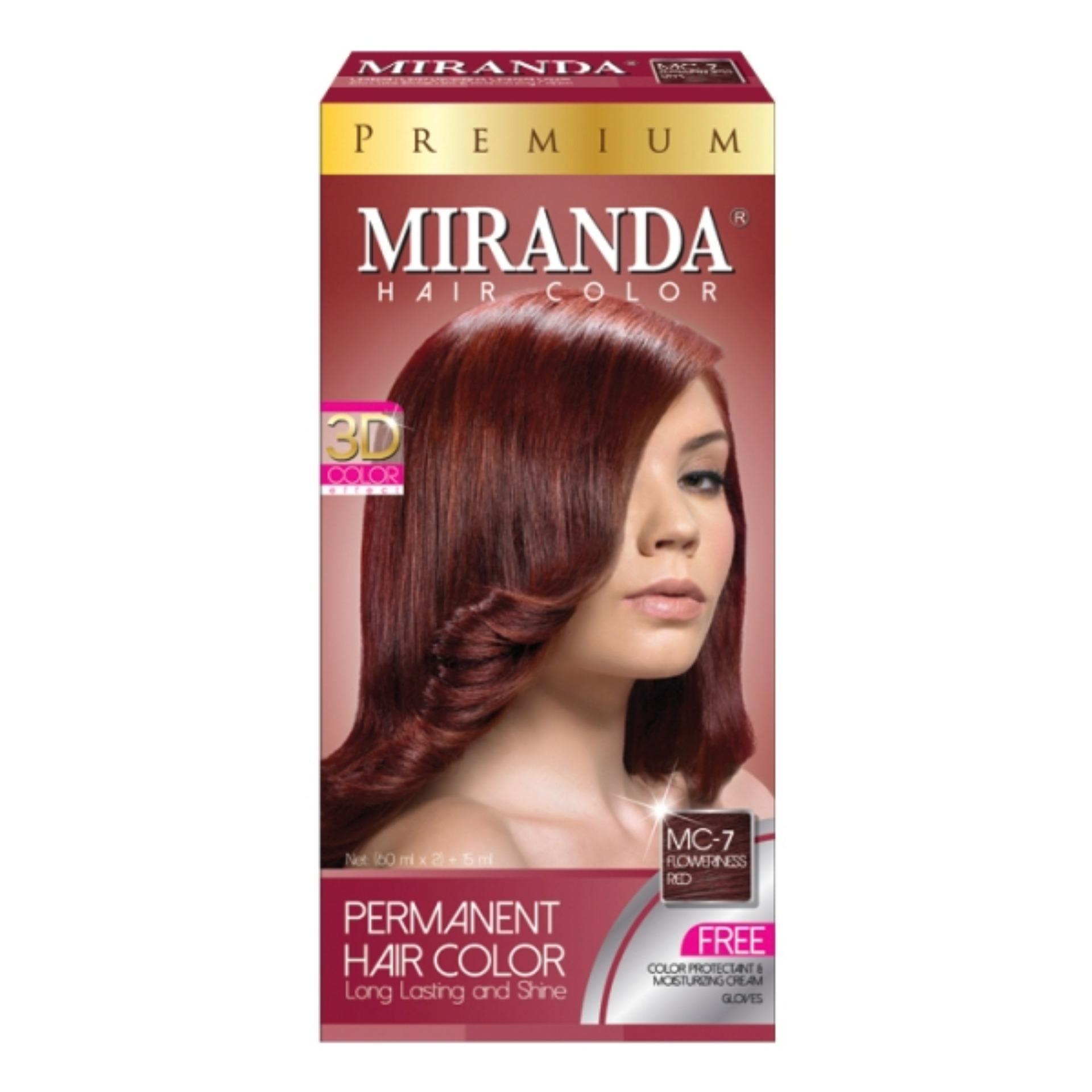 Pencarian Termurah Miranda Hair Color Premium - Flowerness Red harga penawaran - Hanya Rp16.440