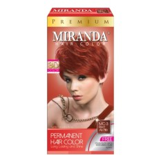 Miranda Hair Color Premium - Red As Fire