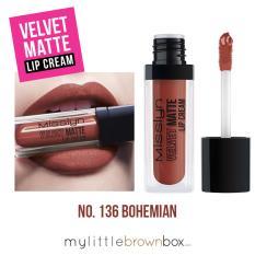 Jual Beli Misslyn Velvet Matte Lip Cream 136 Bohemian 4Ml Di Dki Jakarta