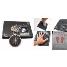 Jual Mjstore Paket Sehat Kalung Quantum Pendant Plus Karpet Terapi Branded Original