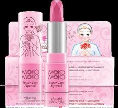 Harga Moko Moko Sugar Lips Lipstick Pink Pk802 Terbaru