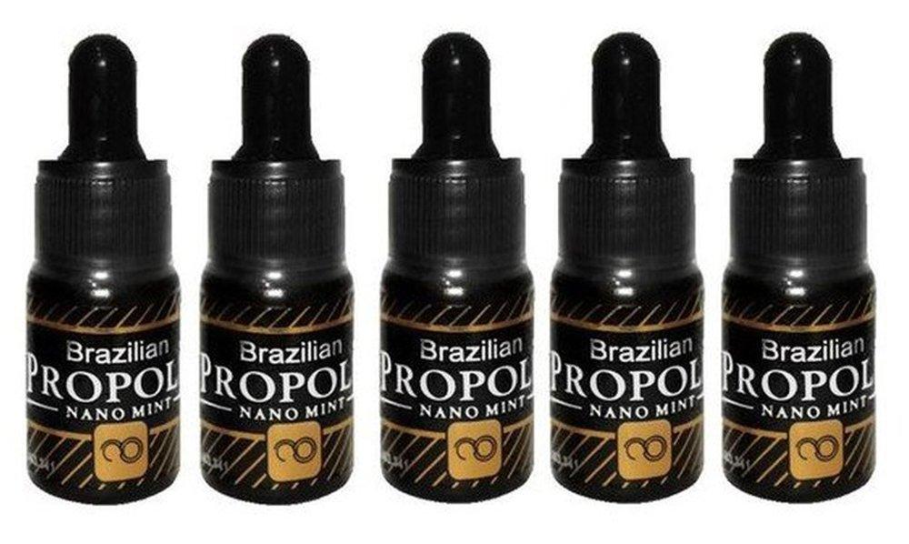 Harga Penawaran Moment Propolis Brazilian Nano Mint - Antibiotik Alami Menyembuhkan Segala Penyakit Isi 5 Botol