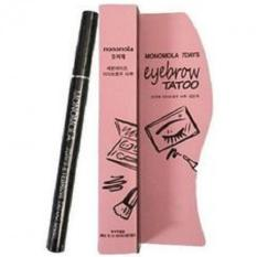 Monomola 7 Days Eyebrow Tatto - Tato Alis - Cokelat
