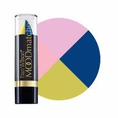 Promo Mood Matchers Lipstick Split Darkblue Yellow Moodmatcher Terbaru