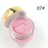 Moonar 16 Warna Alami Tahan Lama Pelembab Glitzy Shimmer Eye Shadow Glitter Pearl Eyeshadow Cream Gel Makeup Powder 07 Murah