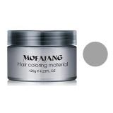 Spesifikasi Moonar Salon Rambut Profesional Pomades Alami Silver Ash Matte Wax Untuk Pria Wanita Abu Abu Intl Bagus