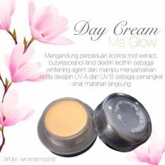 Ms Glow Brightening Day Cream by Cantik Skincare - Mencerahkan/Memutihkan Wajah.
