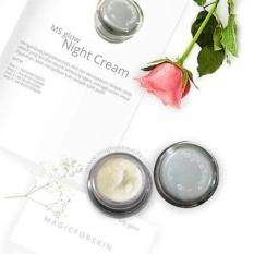Ms Glow Brightening/Whitening Night Cream by Cantik Skincare - Mencerahkan/Memutihkan Wajah