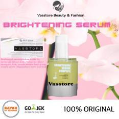 Review Vasstore Ms Glow Brightening Serum Complex 100 Original Msglow Serum Memutihkan Wajah Noda Bekas Jerawat