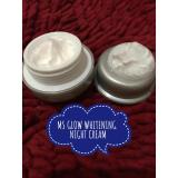 Harga Ms Glow Whitening Night Cream Cream Malam Cream Pemutih Wajah Cantik Sehat Seken