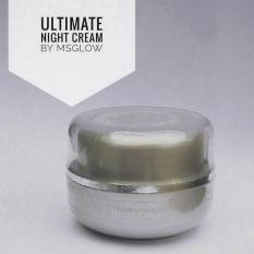 Spesifikasi Ms Glow Ultimate Night Cream Cream Malam Penghilang Flek Hitam Ampuh Murah