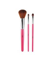 MSQ 3 fiber silk Lancome charm makeup brush Eyeshadow Brush Gift makeup brush set beauty tools - intl