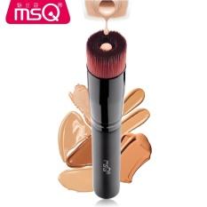 MSQ Liquid foundation Makeup Brush Lancome Baru Alur Sikat Serat Brush BB Cream Alat Kecantikan-Intl