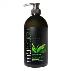 Beli Mu Touch Shower Cream Green Tea Pump 1Lt Dengan Kartu Kredit