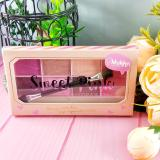 Jual Mukka Sweetpink Palette Set Eyeshadow Dan Blush On Cantik Bpom Mukka Asli