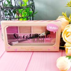 Spesifikasi Mukka Sweetpink Palette Set Eyeshadow Dan Blush On Cantik Bpom