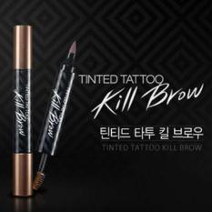 Murah..!!! Tinted Tattoo Kill Brow Kiss Beauty 2 In 1 - Tato Alis Dan Maskara