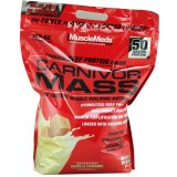 Review Musclemeds Carnivor Mass 10 Lbs Vanilla Caramel Indonesia