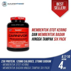 Musclemeds Carnivor Whey Protein Beef Isolate 4,6 Lbs Rasa Coklat