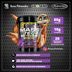 Harga Muscletech Mass Tech Extreme Gainer 2000 22 Lb Chocolate Muscletech Baru