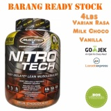 Muscletech Nitrotech Nitro Tech Whey Isolate Milk Choco 4 Lbs Diskon Akhir Tahun