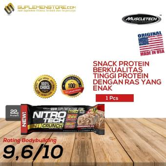 Muscletech Nitrotech Protein Bar Small 1 Pcs Rasa Birthday Cake