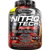 Muscletech Nitrotech Ripped 4Lbs Chocolate Fudge Brownie Murah