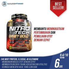 Muscletech Nitrotech Whey Protein Isolate Gold 5,5 Lbs