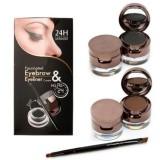 Jual Music Flower 2 In 1 Eyebrow Eyeliner Lengkap