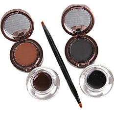 Music Flower 24Hour Waterproof 2 In1 Eyebrow Eyeliner Terbaru