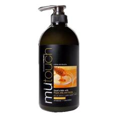 Mutouch Shower Cream Goat Milk With Royal Jelly 1000Ml Mutouch Diskon 50