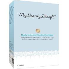 My Beauty Diary Hyaluronic Acid Moisturizing Mask 5Pcs Per Box My Beauty Diary Diskon 30
