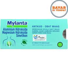Mylanta Tablet - Obat Maag- Asam Lambung- Tukak Lambung Dan Usus
