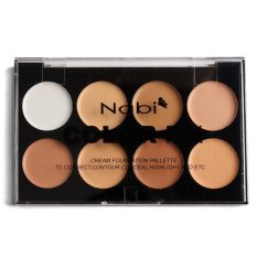 Jual Cepat Nabi Color Fix Cream Foundation Palette Highlighting Contouring Concealer Correction