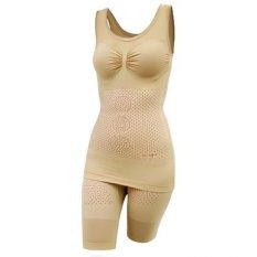 Natasha Slimming Suit Double Infra Red Taiwan Technology - Krem