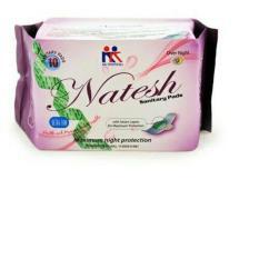 Harga Natesh Night Pembalut Kesehatan Magnetic Herbal Sanitary Pad Original