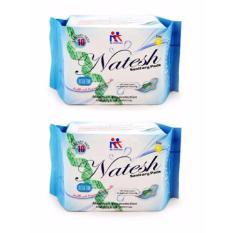 Diskon Produk Natesh Pembalut Wanita Sanitary Pads Pantyliner 2 Pcs