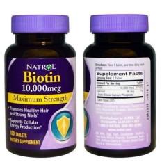 Review Toko Natrol Biotin 10000Mcg Maximum Strength 100 Tablet