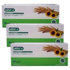 Harga Natur E Natural Vitamin E 100 Iu 4 Strip X 4 Kapsul Paket 3 Pack Suplemen Kulit Branded