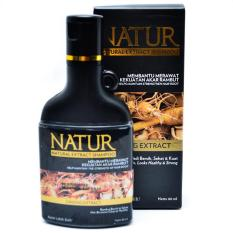 Natur Natural Extract Shampoo Ginseng Extract kecil 80ml