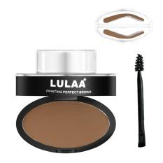 Alis Alami Powder Makeup Brow Stamp Palet Delicated Definisi Bayangan-Intl