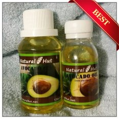 Ulasan Tentang Natural Hut Pure Avocado Alpukat Oil 120Ml Cosmetic Grade Cold Pressed
