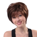Jual Natural Short Wigs For Women Human Hair Wig Short Hair Wig Intl Not Specified Online